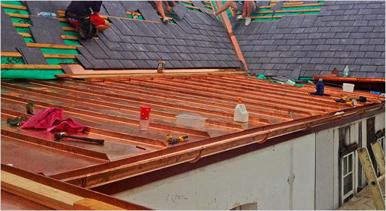 slate roofing installations sydney